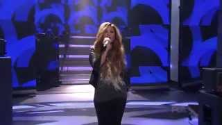 "Demi Lovato Performing ""Give Your Heart A Break"" Live On American Idol HD"