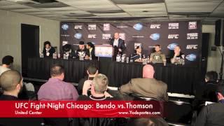 UFC Fight Night Chicago: Bendo vs. Thomson.
