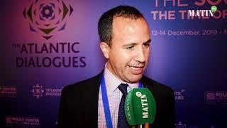 Atlantic Dialogues : Déclaration de Rida Lyamouri