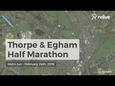 thorpe egham 10k half marathon
