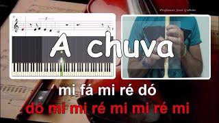 A chuva - Autor Jorge Fernando - Popularizado por Mariza - Karaoke para flauta e voz - Jose Galvao
