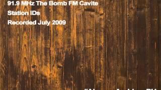 91.9 MHz The Bomb FM Cavite City station IDs (July 2009)