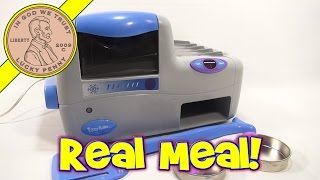 2003 Real Meal Easy Bake Oven! 3 Course Meal - Cookies, Pretzels and Pasta! width=