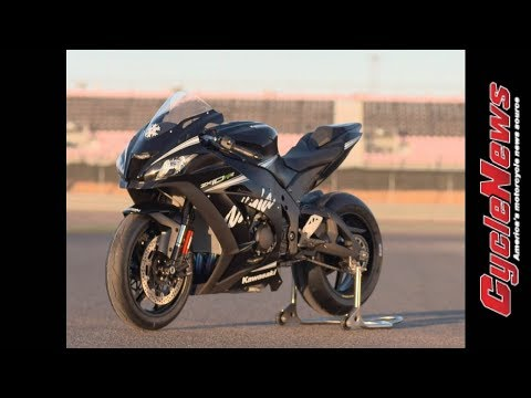 2017 Kawasaki ZX-10RR Track Test - Cycle News