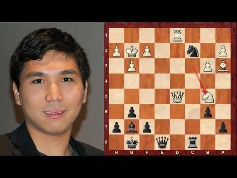 Interesting Rapid Chess Game: Vladimir Kramnik vs Wesley So Grand Chess Tour Paris (Rapid) (2018)