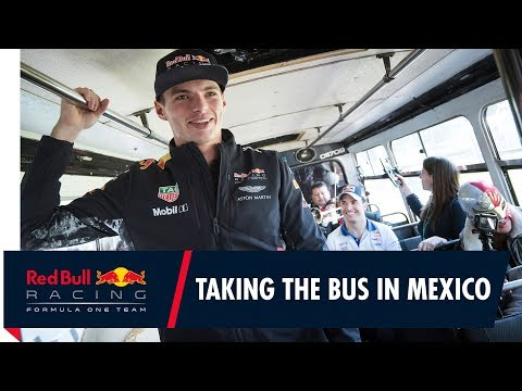 Max Takes The Bus in Mexico!