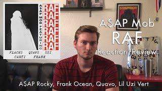 A$AP Mob - RAF ft. A$AP Rocky, Frank Ocean, Quavo, Lil Uzi Vert | Reaction / Review