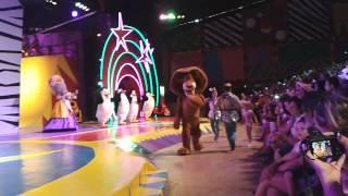 Madagascar Circus Show - Firework (Beto Carrero Word)