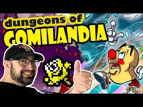 4x11 #082 Dungeons of Gomilandia (1P) (Spectrum)