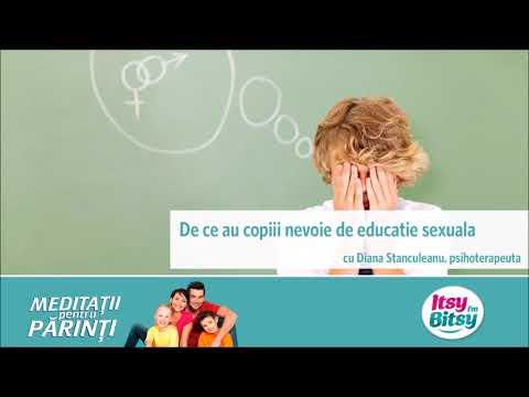 De ce au copiii nevoie de educatie sexuala