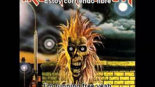 Iron Maiden - Running Free - Subtítulos español/ingles