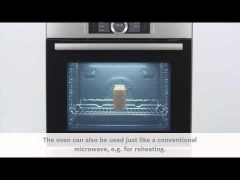 Mikrofunktion med Bosch Serie 8 ugnar