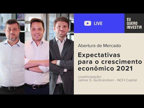 Abertura de Mercado: Expectativas para o crescimento econômico 2021