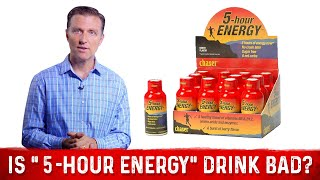 "Is the ""5-Hour Energy"" Drink Bad for You?"
