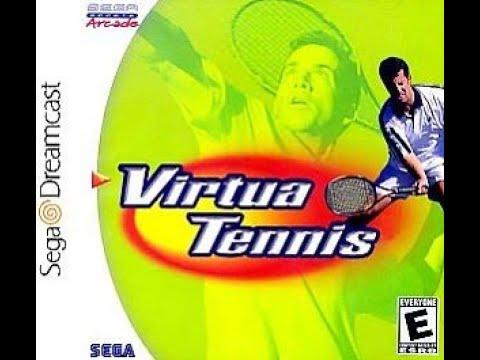 BITeLog 007F: Virtua Tennis (World Circuit + Arcade) (DREAMCAST) LONGPLAY