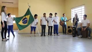 """APAE - Carlópolis Paródia da Música """"Eu Te Amo Meu Brasil"""""""