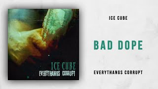 Ice Cube - Bad Dope (Everythangs Corrupt)