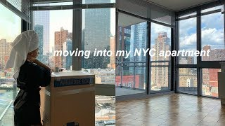 MOVING INTO MY NEW NYC APARTMENT   VLOG