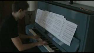 "Unbreakable piano cover ""THE ORANGE MAN"" James Newton Howard"