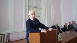 Выступление Захарова в училище