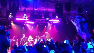 Evanescence LIVE NYC 10/31/11 What You Want