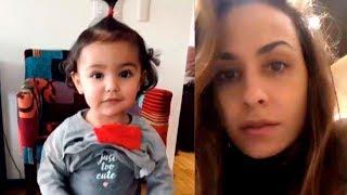 Divertida conversación de Odalys Ramírez con su hija Gia