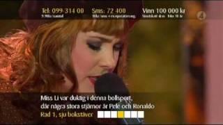 Miss Li - Ba Ba Ba (Live Sommarkrysset 2008)