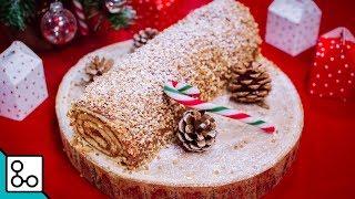 Bûche de Noël chocolat-noisette - YouCook