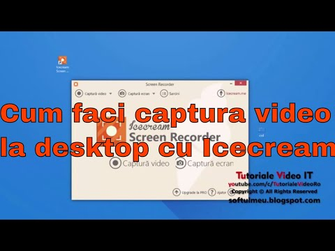 Cum faci captura video desktop de calitate cu Icecream Screen Recorder