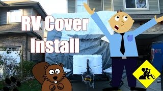 Installing a RV Condom Cover on Your Unit!