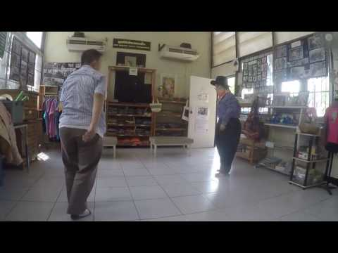 Tu and June Dance the Tango