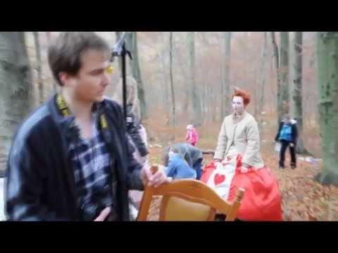 Alice in Wonderland backstage shooting | Lviv |