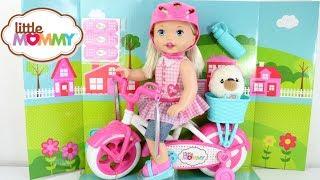 BABY DOLL NOVA BONECA LITTLE MOMMY MEU PRIMEIRO PASSEIO DE BICICLETA