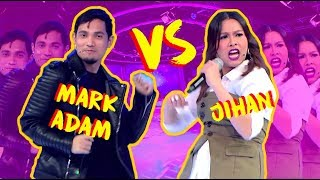 Tergoda tengok Mark Adam Lip-sync battle Jihan Muse
