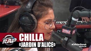 """Chilla """"Jardin d'Alice"""" en live acoustique #PlanèteRap"""