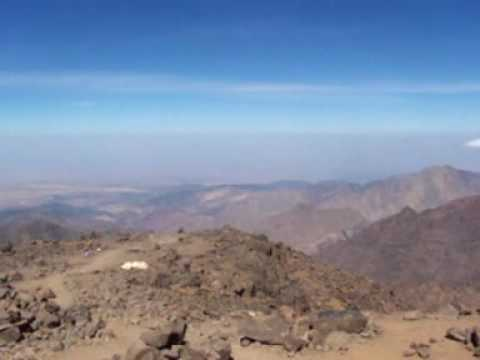A view from Jebel Toubkal (4167m)
