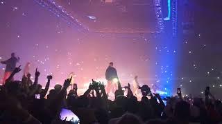 Drake & Migos performs Walk It Talk It in Kansas City for Aubrey & The Three Migos Tour width=