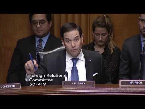 Rubio questions David Friedman at ambassador to Israel hearing