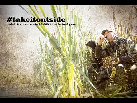 #takeitoutside Sportsman's Warehouse - Duck Hunting