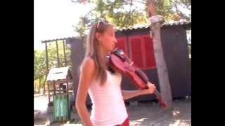 Székely Himnusz a táborunkban, Erika előadásában