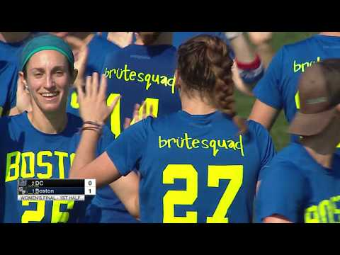 Video Thumbnail: 2018 Pro Championships, Women's Final: Boston Brute Squad vs. Washington D.C. Scandal