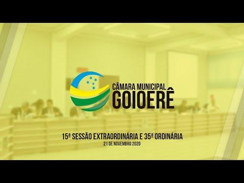 Vídeo na íntegra das Sessões da Câmara Municipal de Goioerê desta segunda-feira, 23