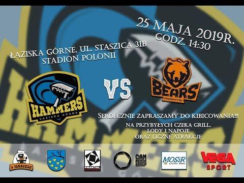 LFA2 2019: Hammers Łaziska Górne - Przemyśl Bears.