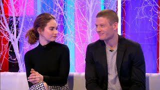James Norton & Lilly James WAR and PEACE  interview