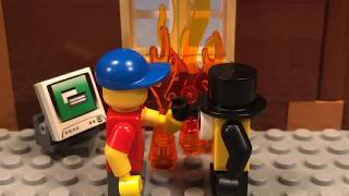 Lego Gravity Falls Bill Cipher makes a deal