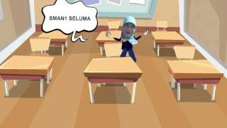 milma yasmi animasi profil video OUT