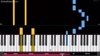 Robin Schulz - OK ft. James Blunt  - EASY Piano Tutorial