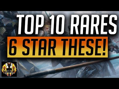 RAID: Shadow Legends | Top 10 Rares to take to 6 star!
