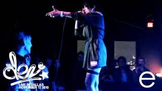 "Dev Live Performing ""Killer"" in Dallas TX November 17, 2010 FRESH MEAT TOUR"