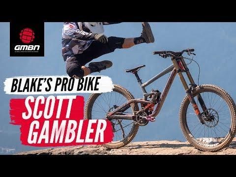 Blake's Scott Gambler   Audi Nines + Whistler Pro Bike